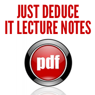 Just Deduce it Lecture Notes